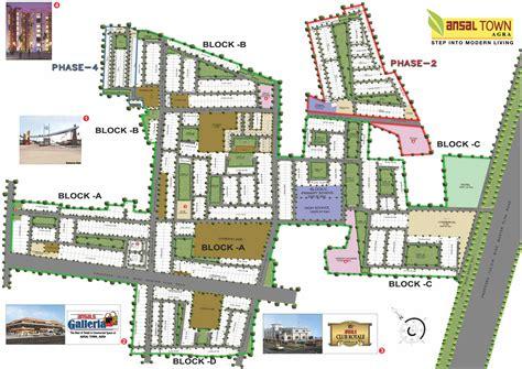 layout plan of town ansal housing