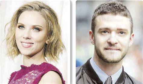Johansson And Justin Timberlake Are Totally Doing It by 191 Se Ha Formado Una Nueva Pareja Cine Farandulero