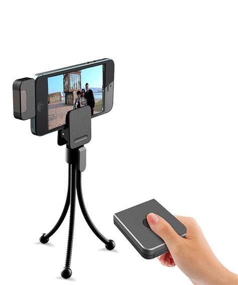 iphone tripod remote say quot cheese quot