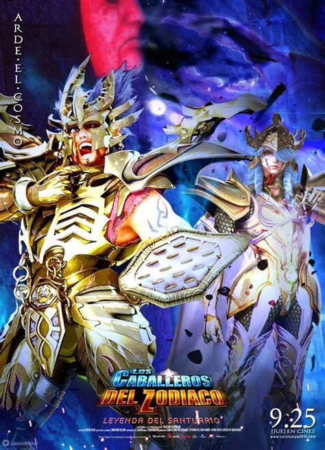 the legend of st seiya legend of sanctuary poster 20 by sonicx2011 on