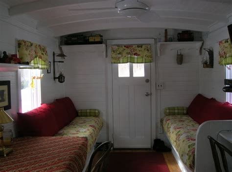 home interior for sale living in a tiny house marcia s cozy red caboose hooked