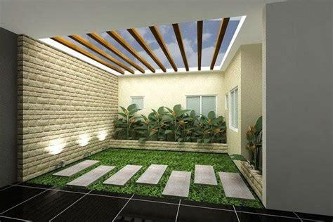 model desain taman kecil  rumah minimalis