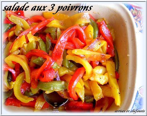 recettes de salade de poivrons 28 images recette salade marocaine aux poivrons cuisine