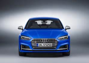 audi s new 2017 a5 s5 sportback family revealed before