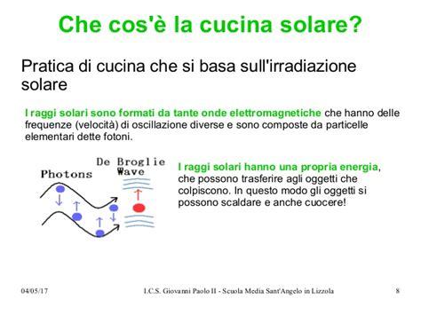 cucine solari a scuola di cucina solare