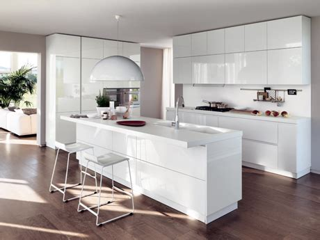 Dove White Kitchen Cabinets by Scavolini Store Fossano Cucine