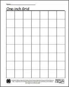 One Inch Graph Paper Template by One Inch Grid Paper Bidproposalform