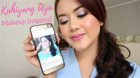 Eyeliner Ratu Ayu pernikahan kahiyang ayu makeup inspired malam tepung