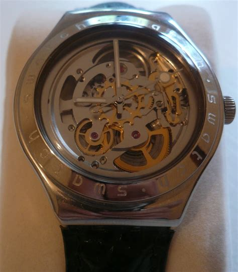 Swatch Uhrenglas Polieren by Erledigt Swatch Irony Automatic Quot Body Soul Quot Yas 100g