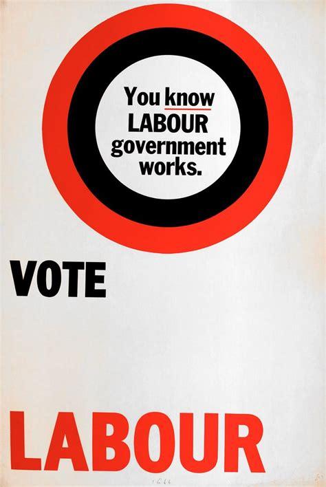 labour party poster  flashbak