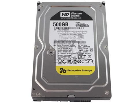 Harddisk Laptop Wd 500gb western digital 500gb drive wd5003abyx buffalo computer parts