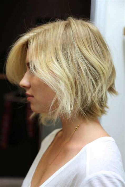 back view wavy short bob for thick hair 2015 pics for gt choppy bob back view