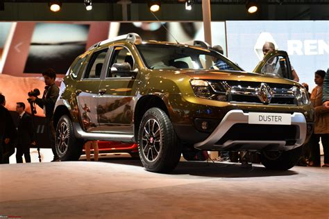 duster renault 2016 renault duster facelift auto expo 2016 team bhp