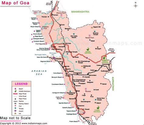 search in maps goa map location map of indian states