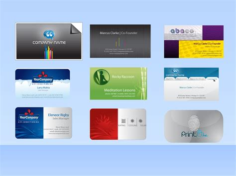 business card templates free vector vector business card templates vector graphics