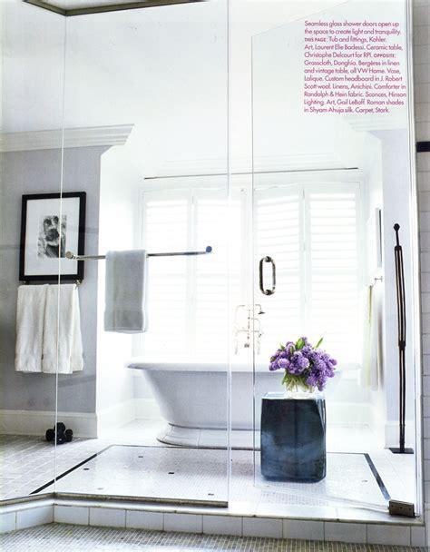veranda magazine bathrooms the sassy shack me time