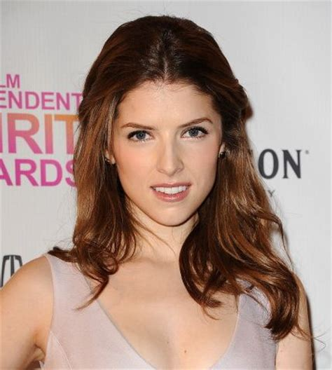 Anna Kendrick Half Up Hairdo   Party, Formal, Awards
