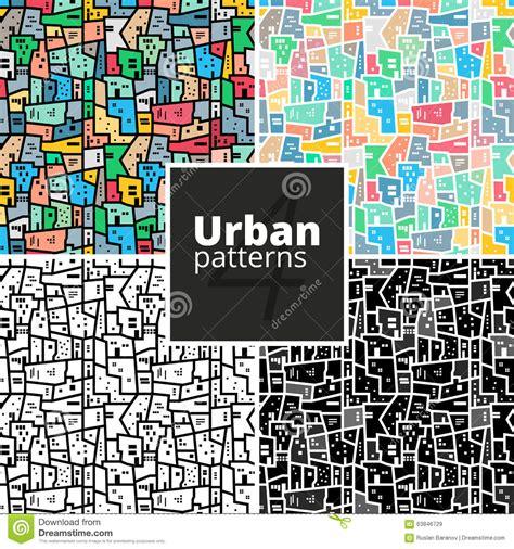 urban pattern vector favela cartoons illustrations vector stock images 25