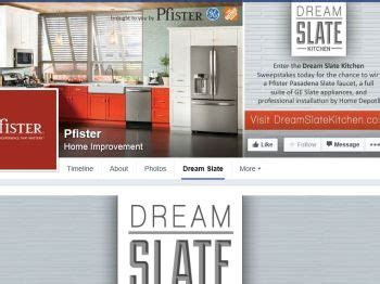 Kitchen Sweepstakes 2014 - pfister dream slate kitchen sweepstakes sweepstakes fanatics