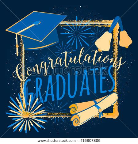 Balon Congrat Grad Key graduation background stock images royalty free images