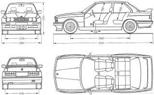 bmw 3 series e30 blueprint download free blueprint for