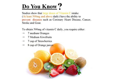 vitamin c vegetables and fruits vitamin c fruits and vegetables