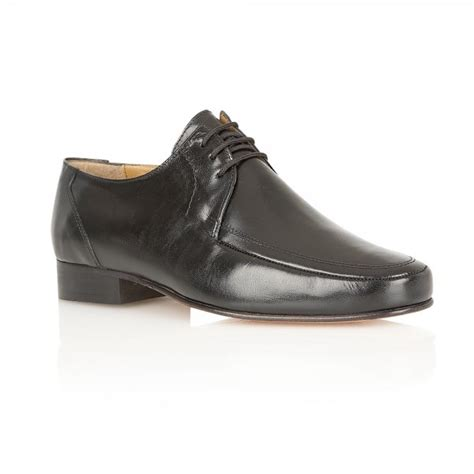 buy rombah wallace romsey black leather formal shoes