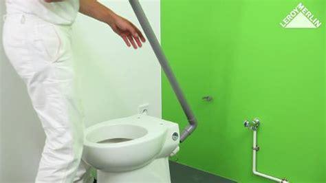 installation d un bidet comment poser un wc broyeur leroy merlin