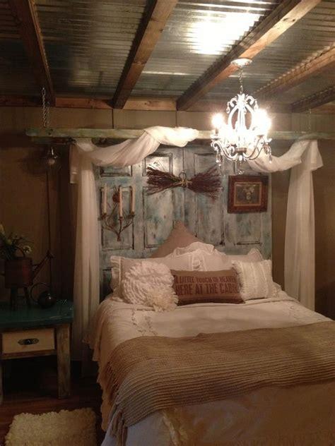decorated bedroom   ladder