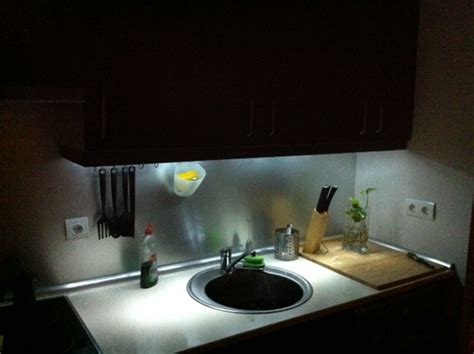eclairage cuisine led eclairage led cuisine diy leds l actu diy leds du web