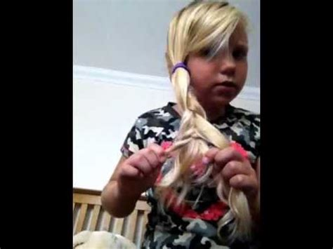 healthy hair fir 7 yr a 7 year olds guide to 5 easy hair styles youtube