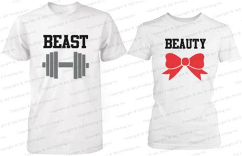 His N Shirts Shirt And Beast Beautiful Beast Beast Shirt