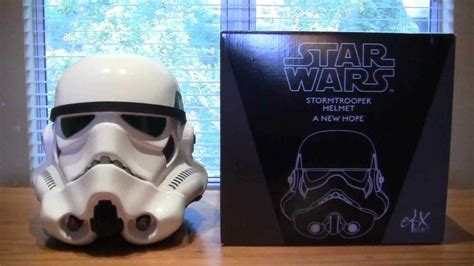 How To Make A Stormtrooper Helmet Out Of Paper - stormtrooper helmet unboxing