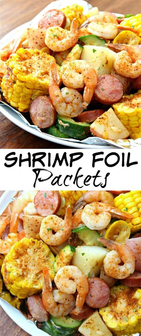 shrimp foil packets recipe the o jays summer and foil