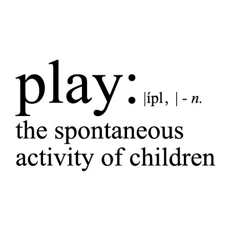 play definition wall quotes decal wallquotescom