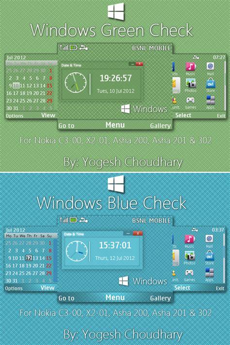 nokia c3 themes windows 10 the cleanest themes for nokia c3 00 asha 200 asha 201
