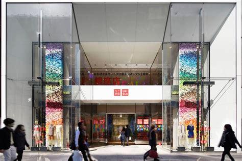designboom retail uniqlo windows installation by emmanuelle moureaux tokyo