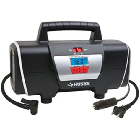 husky 12 volt 120 volt inflator home and auto inflator hd12120