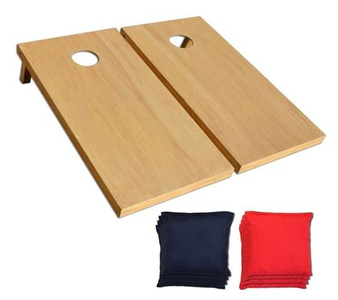 bean bag toss board dimensions aca regulation size bean bag toss set board