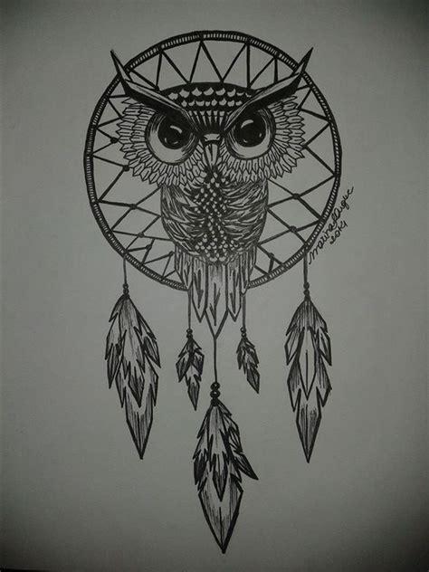 Anting Silver Owl Burung Hantu owl dreamcatcher by marinafduque deviantart on deviantart tattos