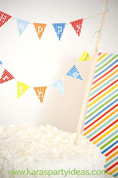 free printable birthday cake banner free cake bunting printables for birthday fall and