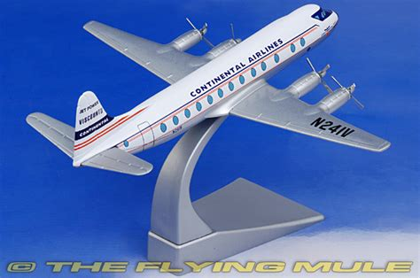 Corgi Aviation Archive 1 144 Vickers Viscount Continental Airlines corgi 47603 viscount diecast model continental airlines n241v