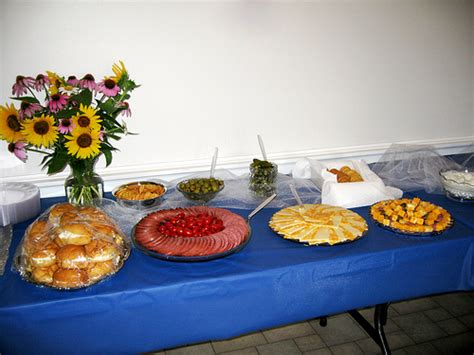 Cheap Do It Yourself Wedding Reception Tips Inexpensive Buffet