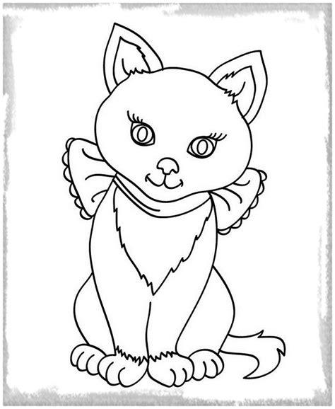 imagenes para colorear gatitos dibujos archivos gatitos tiernos