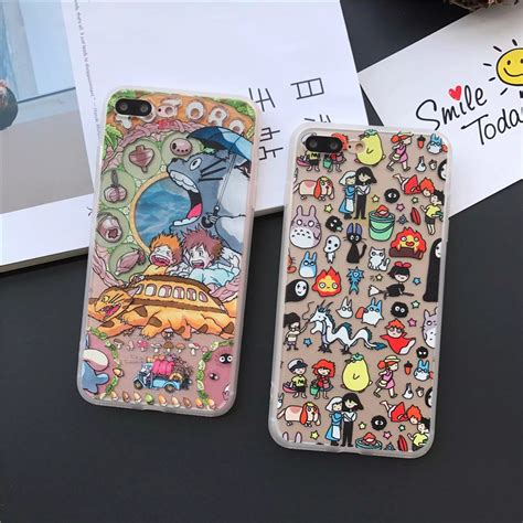 Totoro Poster Green Iphone 6 7 5s Oppo F1s Redmi S6 Vivo Lg My Totoro For Iphone