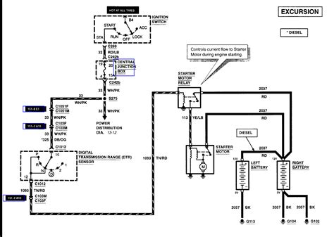 wiring diagram 2000 excursion sel wiring get free image