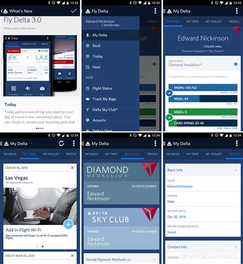 delta app android fly delta 3 0 gives the airline s android app a much needed makeover android central