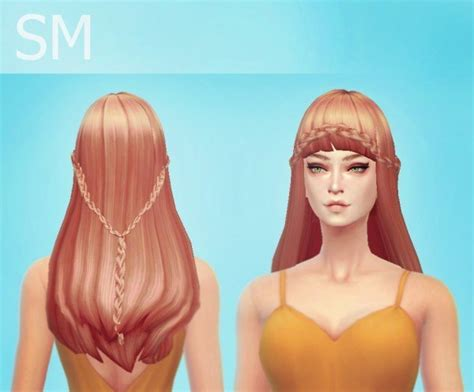 hairstyles download sims 4 simmaniacos mermaid hairstyle sims 4 downloads
