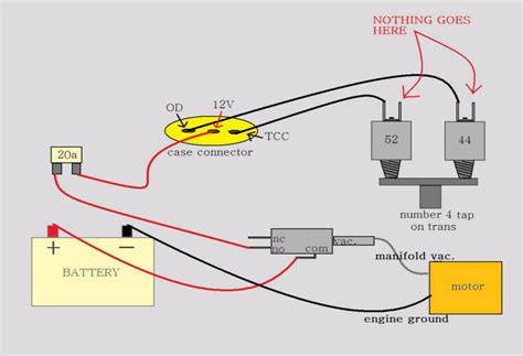 ford aod neutral safety switch wiring diagram ford neutral