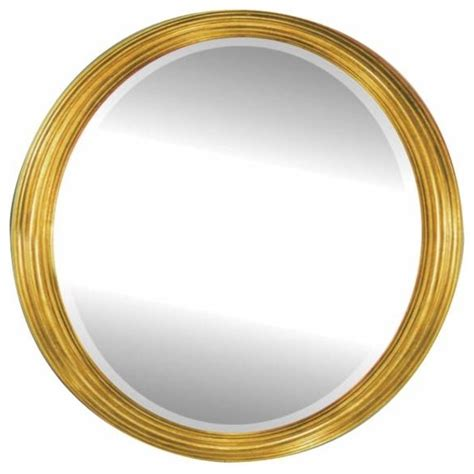 alno creations framed oval mirror gold traditional